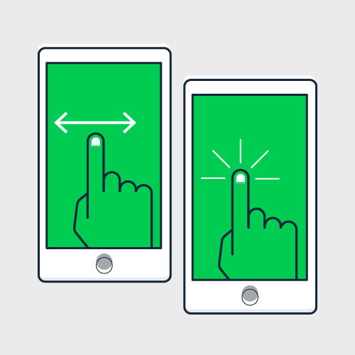 Guide to Designing Mobile Surveys Swipe & touch tap